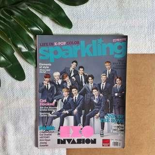 Sparkling Magazine (EXO and SHINee Back to Back Cover)