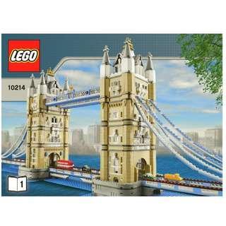 Lego Tower Bridge London, New