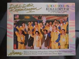 Sharing GLORIOUS MOMENTS XVI COMMONWEALTH GAMES 1998