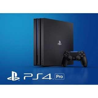🚚 PS4 PRO 1TB Bundle with FREE Additional Controller + 2 FREE Random Game (Brand New with 15 Months Local Warranty)