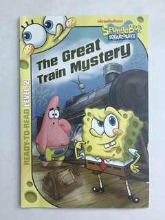 Sponge Bob the Great Train Mystery