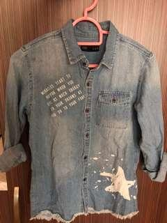 Brand new denim shirt