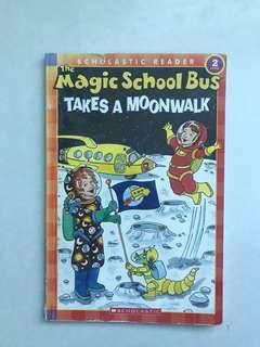Magic school bus takes a moonwalk