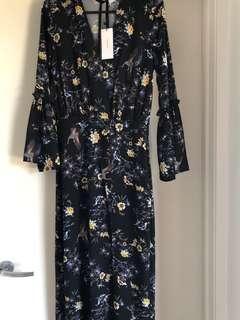 Sheike maxi dress size 6 Brand New