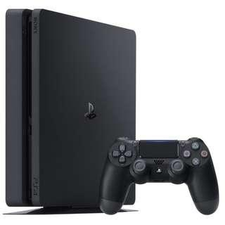 🚚 PS4 Slim 500GB Bundle with 2 FREE Random Games + FREE GIFTS (Brand New with Total 27 Months Local Warranty)