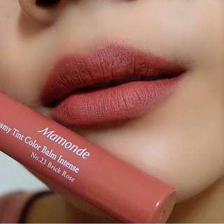 Mamonde Creamy Tint Color Balm #BrickRose