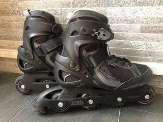 Oxelo Black Inline Skates