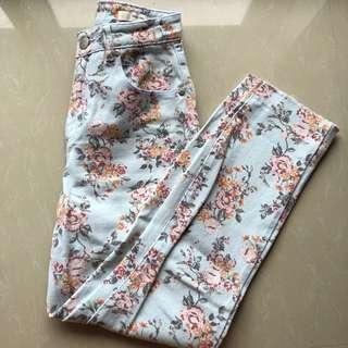 Cotton on Flower Jeans
