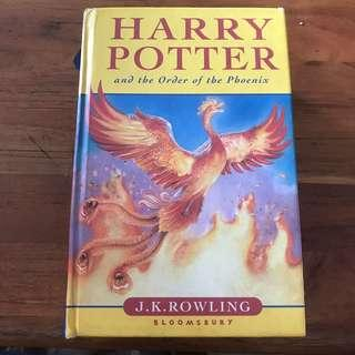 Harry Potter And The Goblet Of Fire (first edition hardcopy)
