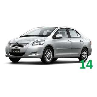 3 Months Contract Toyota Vios $350 / Week