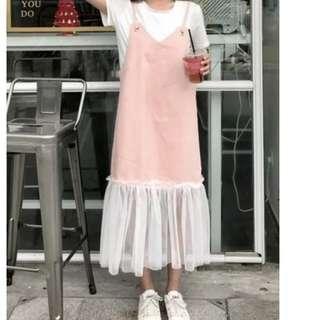 🚚 PO Summer Korean denim pretty dress
