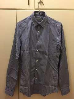 blue stripe shirt Primark size 14