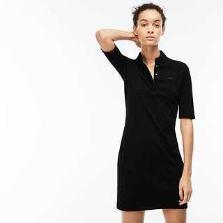 lacoste stretch cotton dress