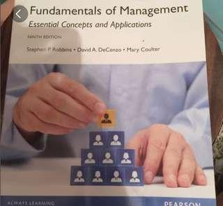 全新Fundamentals of Management