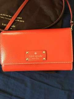 Kate Spade Wallet on Chain (Red)