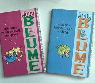 2 Judy Blume Books