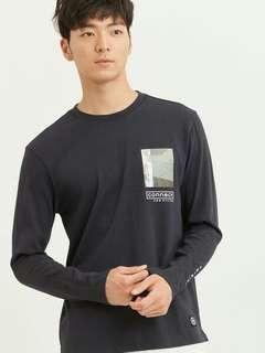H:Connect Solid Colour Long Sleeves Shirt
