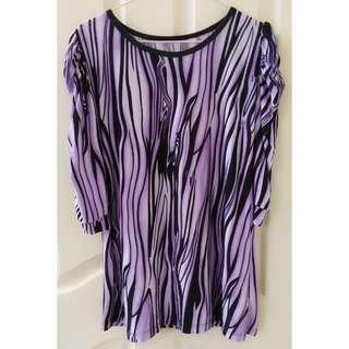 USED Purple Blouse