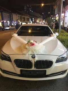 BMW 5 Series Wedding Car Rental w/ Driver