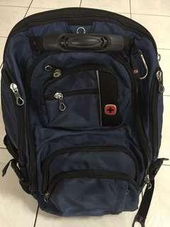 瑞士軍刀背包商務電腦包Swissgear旅行商務雙肩包潮男筆電包