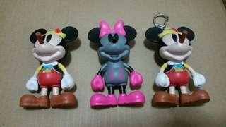 3x Mickey Mouse