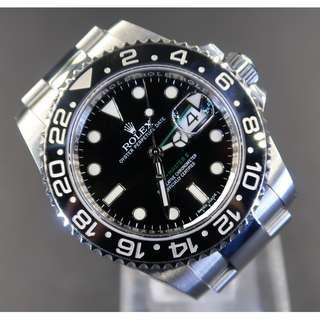 Pre Owned Rolex GMT-Master II 116710LN (Cash Price)
