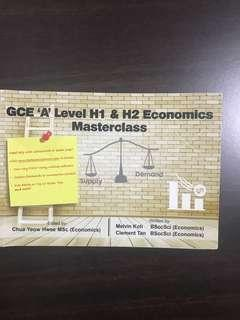 A Level Economics Masterclass Guidebook by Melvin Koh