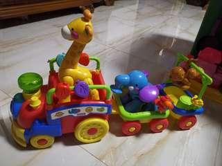 Fisher price animal train