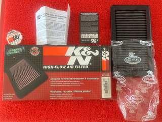 K&N drop in filter for civic FD2/R