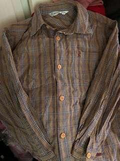 🚚 9成新男童襯衫130