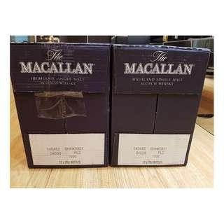 Macallan Sherry Oak 18 years 1996 (1 case)
