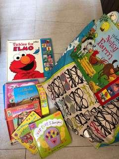 Children Books; clothes 3-4 years old; shoes; ladies clothes size 10