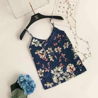 Floral Single Top