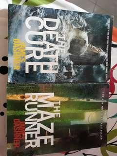 The maze runner and death cure book