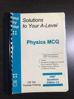 A Level Physics MCQ TYS before 2006