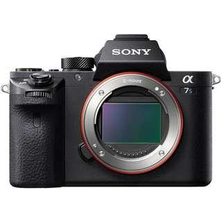 Special Rental Price January 2019 - Sony A7s II body Sewa Kamera / Camera Lens Rental
