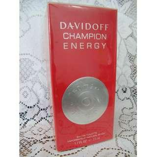 CLEARANCE ! 50ml DAVIDOFF Champion Energy EDT men Perfume !