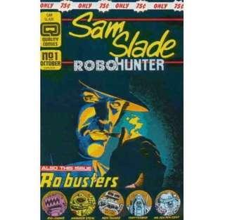 SAM SLADE ROBOHUNTER #1 (1986) 1st Issue! Copper age. HTF