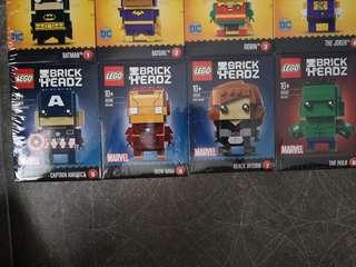 Lego Marvel Brickheadz Seriez 1