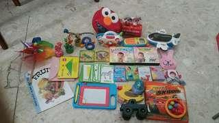 Baby toys and education flash cards