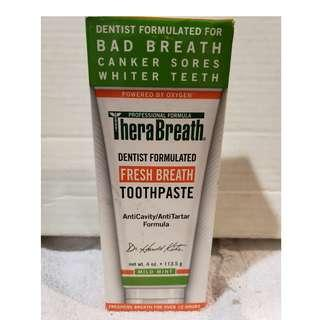Therabreath Mint Toothpaste