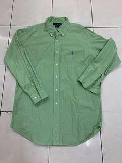 Polo Ralph Lauren Green Shirts