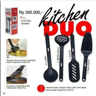 Kitchen duo Spatula and ladle