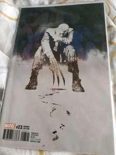 Marvel comics OLD MAN LOGAN #23 1:25 BILL SIENKIEWICZ VARIANT NM NEW B&B