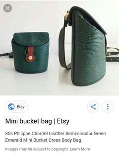 Philippe Charriol mini bucket sling bag