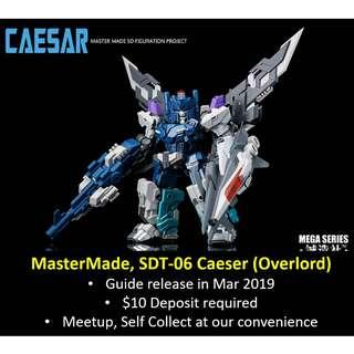 [Urgent Preorder] MasterMade Master Made, SDT-06 Caeser (Overlord)