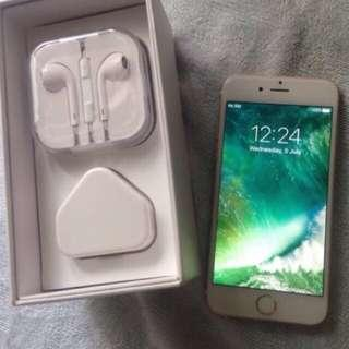 Brand new in box 6 64gb. No warranty