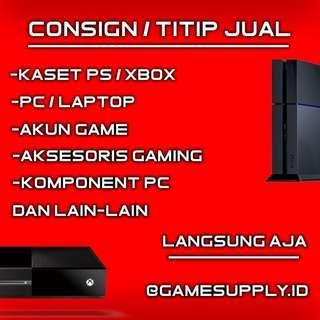 Titip Jual Barang Gaming