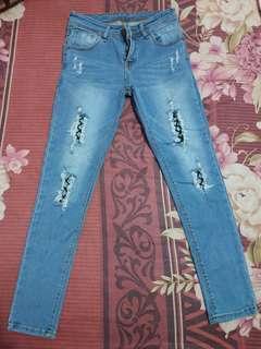 Celana Jeans Jaring Uk.27