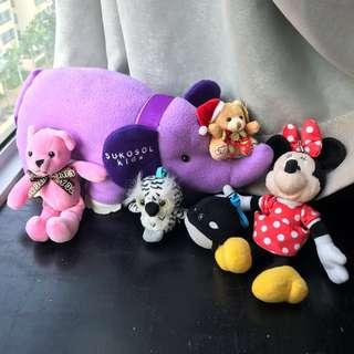 🌸 cheap assorted stuffed toys